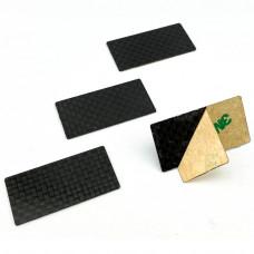 MXLR Carbon Winglet 40x20mm (4 pcs)