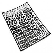 MXLR Sticker Sheet