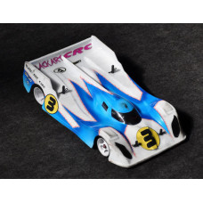 CRC Ultra-lite Black Art Toyota 1/12 Body