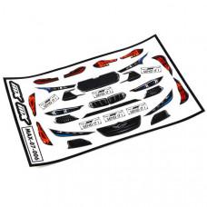 MXLR RACE Headlight Sticker set 1/10