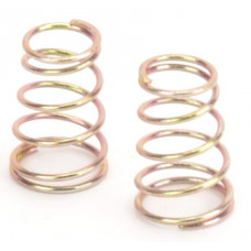 Schumacher Rear Springs Gold -Med/Hard - At/Ecl - pr